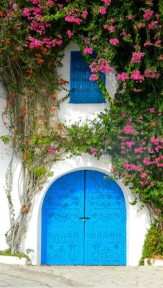 Sidi Bou Said, Tunisia Inspired by everything @jfleetdesigns #design #decor