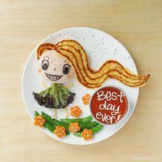 Rapunzel #leesamantha #foodart
