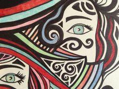 Mijn schilderijen van dichtbij...made by Sevdeger Ezersoz