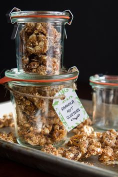 Granola Nut Clusters 8450 thumb   Granola Nut Clusters – Easy, Portable Holiday Gift Idea!