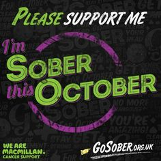 support me in my go sober
