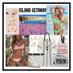 """""""CHIC Island Getaway!"""" by flippintickledinc ❤ liked on Polyvore featuring WithChic, Venus, M&Co, PBteen, Kate Spade, Kenneth Jay Lane, Cartier, Tory Burch and islandgetaway"""