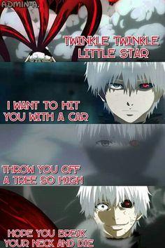 Twinkle lil star ver Tokyo Ghoul