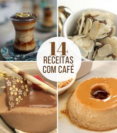 Dia Nacional do café: veja as melhores receitas de sobremesas que levam esse grão favorito dos brasileiros!