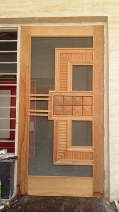 Bedroom Door Design, House Gate Design, Door Design Interior, Single Door Design, Wooden Front Door Design, Wooden Doors, Latest Door Designs, Pvc Ceiling Design, Net Door