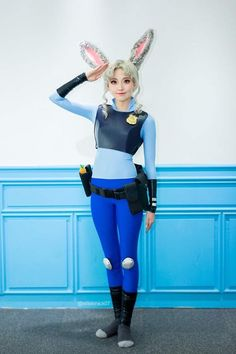 My Judy hopps cosplay from Zootopia (Repost)