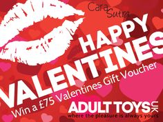 Win a free £75 cash voucher to spend on sex toys at Adult Toys UK in the Cara Sutra Share to Win competition for February!  http://carasutra.co.uk/blog/competitions/