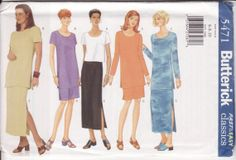 WOMEN'S SEWING PATTERN Butterick 5471 Fast and by retrochick66, $5.95