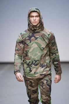 The sunset never comes for a true camouflage military style look from Maharishi. Fw15, for fashionable men and boys.