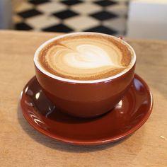 Tasty latte at Model Bakery | The Best Napa Restaurants