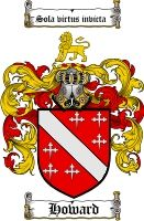 $8.99 Howard Family Crest / Howard Coat of Arms - Download Family Crests
