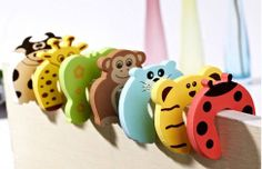 Animal Door Jammers by LilHootsBoutique on Etsy, $3.00