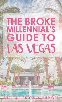 Looking to enjoy to Vegas for cheap? Click through for the ultimate budget guide to the best food, hotels, and nightlife. You don't have to be a millionaire to enjoy Vegas just like one! Travel Jobs, Ways To Travel, Budget Travel, Travel Usa, Places To Travel, Hawaii Travel, Italy Travel, Nevada, Vegas Birthday