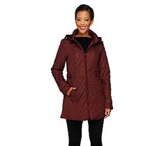Liz Claiborne New York Mixed Quilted Jacket