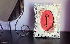 Valentine's romantic frame-Ρομαντική κορνίζα