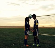 Soccer couple/cute soccer pictures/soccer/ @Chrissy L L Stephenson Willimon