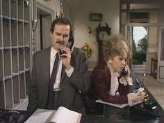 """Fawlty Towers...""""Oh I Knoooow"""" (Sybil)"""