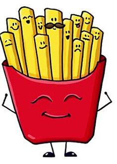Here you go, a dozen emoji fries, served up hot and fresh while you wait. Cute Food Drawings, Cute Kawaii Drawings, Kawaii Doodles, Doodle Drawings, Doodle Art, 365 Kawaii, Kawaii Art, Dibujos Cute, Cute Disney