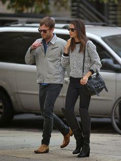 Celeb Diary: Lily Aldridge & Caleb Followill in New York