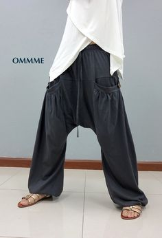 Harem pants 044 by Ommme on Etsy