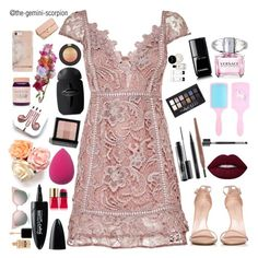 """Happy Mother's Day"" by the-gemini-scorpion ❤ liked on Polyvore featuring Stuart Weitzman, MAC Cosmetics, Mary Kay, Maybelline, Versace, Chanel, Bobbi Brown Cosmetics, Yves Saint Laurent, Topshop and Fendi"