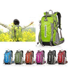 40L Outdoor Camping Hiking Backpack Travel Mountaineering Trekking Shoulder Bag