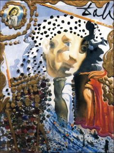 Salvador Dali - The Whole Dali in a Face 1975