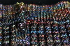Sparkles*United: Comfort Knitting. malabrigo Rios in Pocion colorway.
