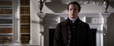 "John Davinier [Sam Reid], still from ""Belle"". Sam Reid, John Lindsay, Tom Wilkinson, Miranda Richardson, Emily Watson, Matthew Goode, Bad Image, Historical Romance, Royal Navy"