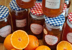 making homemade marmalade - the perfect kitchen task for January?