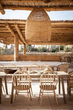 Scorpio Beach Club in Mykonos, Greece