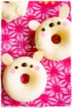 Rabbit doughnuts