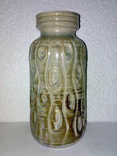 Vase Scheurich WGP Mid Century 60s 70s ? Koralle 288-22