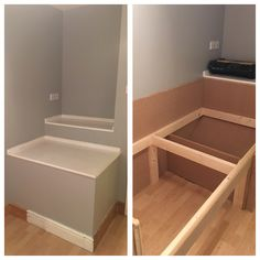 Before box room cupboard over stairs home ideas for Stair box in bedroom ideas