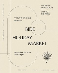 Holiday season is officially upon us Flyer concept for To.- Holiday season is officially upon us 〰️ Flyer concept for Town & Anchor Holiday season is officially upon us 〰️ Flyer concept for Town & Anchor - Web Design, Font Design, Graphic Design Layouts, Graphic Design Posters, Graphic Design Typography, Graphic Design Inspiration, Layout Design, Flyer Design, Design Trends
