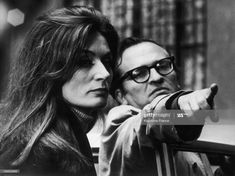 News Photo : Sidney Lumet And Anouk Aimee In The Appointment... Anouk Aimée, Orson Welles, Still Image, Close Image, On Set, Appointments, Bring It On, Cinema, Couple Photos