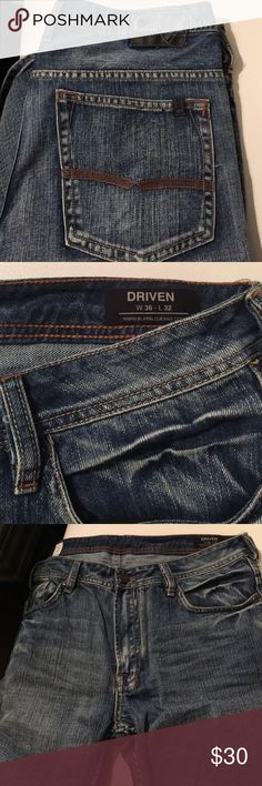 Buffalo David Bitton style driven size 36 x 32 36 x 32 medium wash jeans style driven by David Bitton Buffalo David Bitton Jeans Bootcut