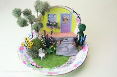 Quick Build Display Projects for Dollhouse Miniatures or Dioramas: Make A Miniature Scene in a Tea Cup