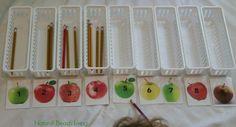 DIY Fall Montessori Math Activities (Free Printables)