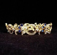 JFK enjoyed giving Jackie nautical theme gifts of art and jewelry. They both had a love of the sea - JFK loved to be on or in the sea and Jackie preferred to be looking at the sea and living next to it. Jackie wore this bracelet on her left hand, as was her habit, the left hand was reserved for gifts from JFK and eventually JFK Jr.