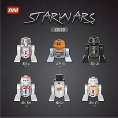 67.50$  Know more - http://airo4.worlditems.win/all/product.php?id=32800606956 - Star Wars 100pcs X528 SW424 RSF7 RSD8 S RsD8 C110p RSJ2 StarWars Classic action figures toys for children lepin x0149