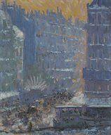 Theodore Earl Butler (1860-1936) : Place du Havre, Paris ...