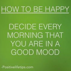 Positive mind = positive life! ✌️