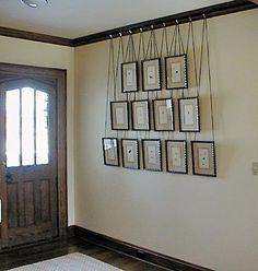 wall hangings.