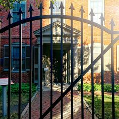 """Entrance to the Wadsworth-Longfellow House, Portland, Maine (Facebook share by """"Old Port Magazine"""")"""