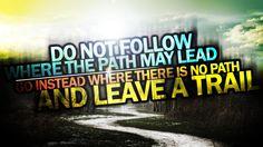 Do Not Follow HD Wallpaper | 999HDWallpaper