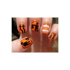 The Daily Nail by amy nail art amazing nail polish paint found on Polyvore