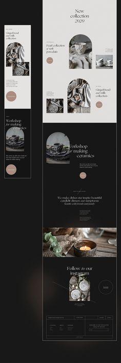 Website Design Layout, Web Layout, Website Design Inspiration, Layout Design, Ui Inspiration, Modern Web Design, Best Web Design, Web Design Projects, Interactive Design