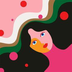Animated GIFs & Illustrations by Minji Moon | Inspiration Grid | Design Inspiration