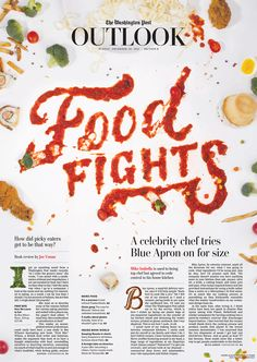 Joseph Alessio, fine animator of lettering gifs, wanted to collaborate on a food type cover for the Washington Post, and I was happy to oblige. Together we made a beautiful mess of lunch room fodder to highlight competition, preference, and political stru…